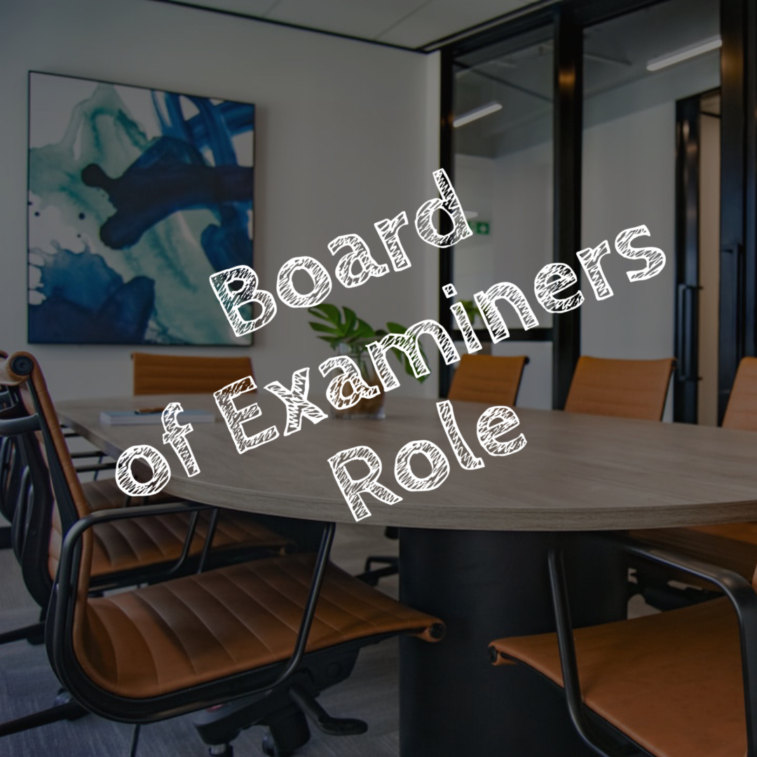 Board of Examiners Role - PA