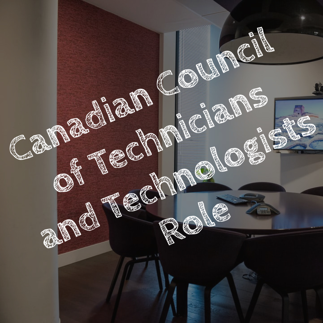 Canadian Council of Technicians and Technologists Role - PA2