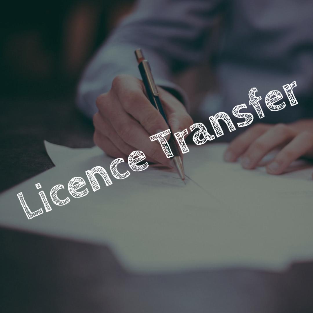 Licence Transfer - ENS