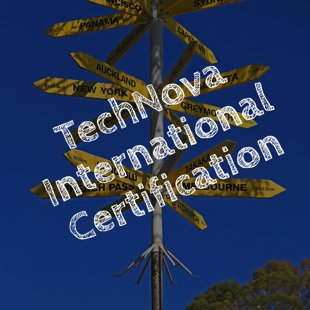 TechNova International Certification - PA