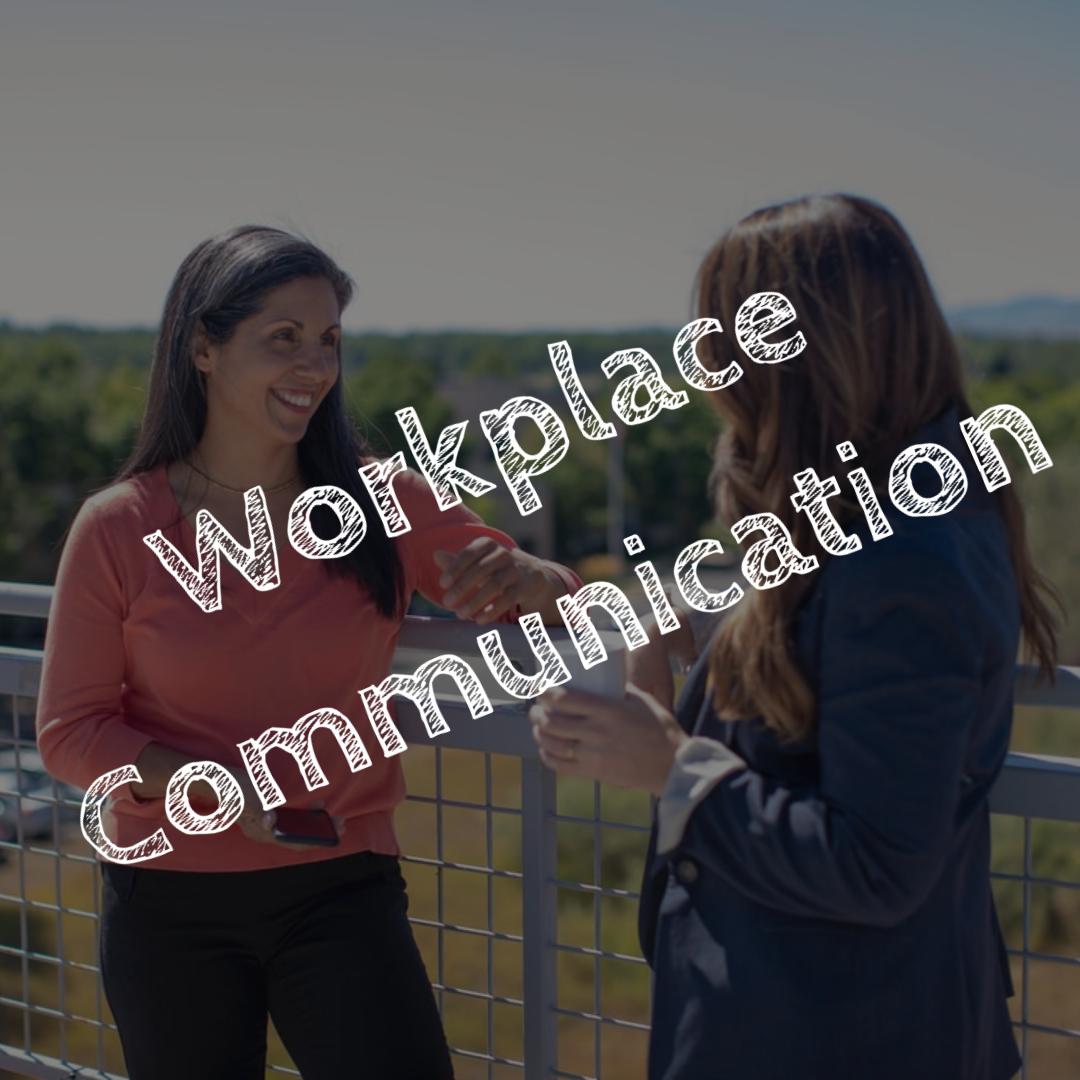 Work Communication - Working